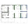 Case modulare 5-cameră de plan de podea