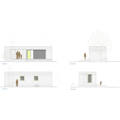 Casă modulară cu 2 camere