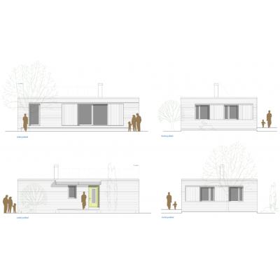 Casă modulară cu 4 camere