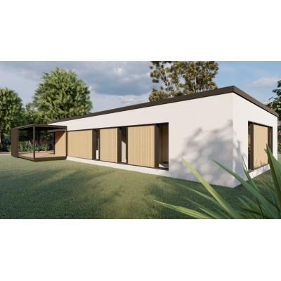 Modular casa cu 4 camere